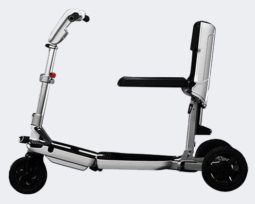 Smart Foldable Electric Scooter with Three Wheels