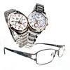 시계, 시계 및 안경
