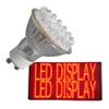 إضاءة LED والعرض