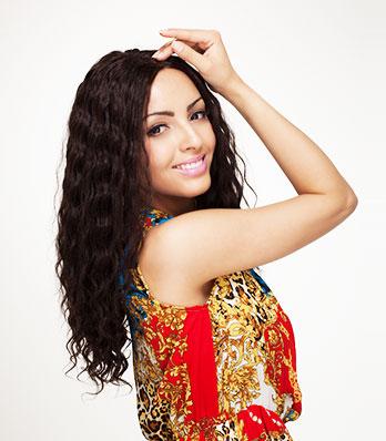 Cheveux Front Lace Wig Brésiliens