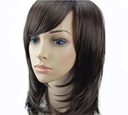 Full Lace Wigs Cheveux Humains Raides