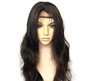Full Lace Wig Américain Africain (LOKSWIG07)
