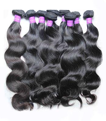 Cheveux Humains Vierges Naturels Brésiliens
