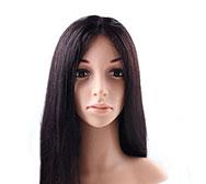 100% Человеческие Волосы Парики Полные Шнурка