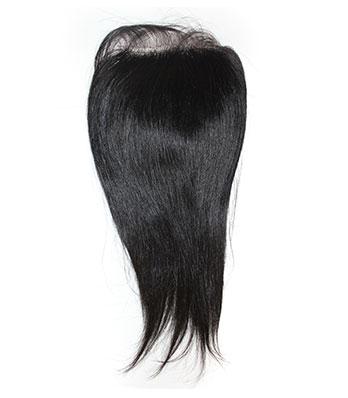 Бразильские Человеческие Волосы Полные Шнурка Закрытия